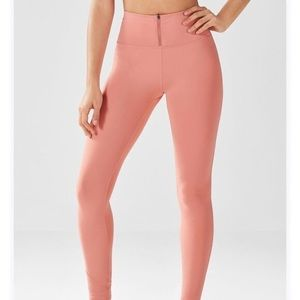 Fabletics Arielle High-Waisted Pink Leggings
